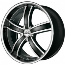Antera 381 9,5х20 PCD:5x114,3  ET:40 DIA:75.0 цвет:Diamond Black Front and Lip Po