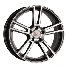 1000-Miglia MM1002 8,0х18 PCD:5x112  ET:45 DIA:66.6 цвет:Dark Anthracite Polished
