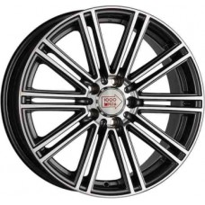 1000-Miglia MM1005 8,0х18 PCD:5x112  ET:35 DIA:66.6 цвет:Dark Anthracite Polished