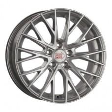 1000-Miglia MM1009 7,0х17 PCD:5x114,3  ET:50 DIA:67.1 цвет:Silver High Gloss
