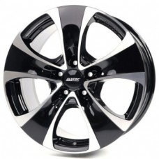 Alutec Dynamite 8,5х18 PCD:5x120  ET:45 DIA:76.1 цвет:Diamant Black Front Polished