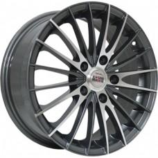 Alcasta M02 5,5х14 PCD:4x100  ET:43 DIA:60.1 цвет:GMF (темно-серый,полировка)