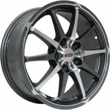 Alcasta M10 6,0х15 PCD:4x100  ET:50 DIA:60.1 цвет:GMF (темно-серый,полировка)