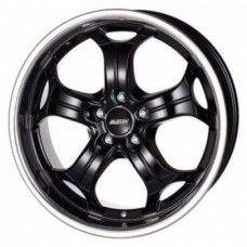 Alutec Boost 9,0х20 PCD:5x120  ET:15 DIA:76.1 цвет:Diamond Black with Stainless S