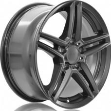 Alutec M10 7,5х16 PCD:5x112  ET:45,5 DIA:66.5 цвет:metal grey