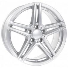 Alutec M10 6,5х16 PCD:5x112  ET:49 DIA:66.5 цвет:polar silver