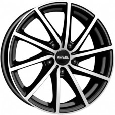 Alutec Singa 7,5х18 PCD:5x112  ET:45 DIA:57.1 цвет:Diamond Black Front Polished