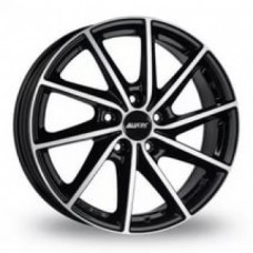 Alutec Singa 6,0х16 PCD:4x100  ET:43 DIA:57.1 цвет:Diamant Black Front Polished
