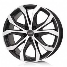 Alutec W10 8,0х18 PCD:5x150  ET:51 DIA:110.1 цвет:Racing Black Front Polished