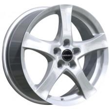 Borbet F 6,0х16 PCD:5x112  ET:48 DIA:66.6 цвет:Brilliant Silver
