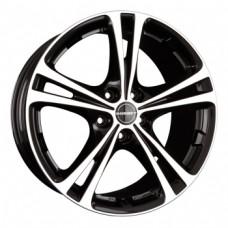 Borbet XL 8,0х18 PCD:5x112  ET:35 DIA:72.5 цвет:Black polished glossy