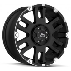 Buffalo BW-004 8,5х17 PCD:5x127  ET:25 DIA:78.3 цвет:Gloss Black Machined Face