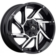 Buffalo BW-422 9,0х20 PCD:5x150  ET:35 DIA:110.1 цвет:Gloss Black Machined Face