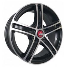 Ё-wheels E03 6,5х16 PCD:5x139,7  ET:40 DIA:98.5 цвет:MBF (черный,полировка)