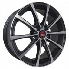 Ё-wheels E07 6,5х16 PCD:5x110  ET:37 DIA:65.1 цвет:GMF (темно-серый,полировка)