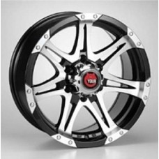 Ё-wheels E26 7,0х16 PCD:5x139,7  ET:0 DIA:108.5 цвет:BKF (черный)