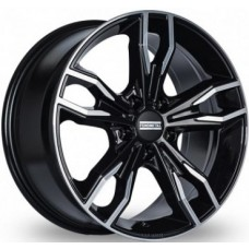 Fondmetal Alke 8,0х18 PCD:5x112  ET:30 DIA:66.5 цвет:Black Glossy Machined