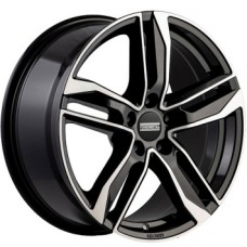 Fondmetal Hexis 8,0х18 PCD:5x112  ET:29 DIA:66.5 цвет:Black Glossy Machined
