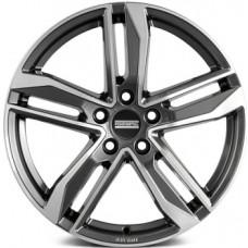 Fondmetal Hexis 8,0х18 PCD:5x112  ET:48 DIA:57.1 цвет:Titanium Glossy Machined