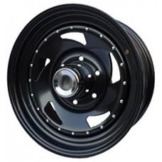 Ikon SNC006 7,0х15 PCD:5x139,7  ET:0 DIA:108.7 цвет:BL (черный глянцевый)