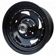 Ikon SNC010 10,0х15 PCD:5x139,7  ET:-24 DIA:108.7 цвет:BL (черный глянцевый)