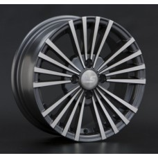 LS-Wheels 110 6,0х14 PCD:4x108  ET:28 DIA:73.1 цвет:GMF (темно-серый,полировка)