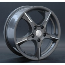 LS-Wheels 114 6,5х16 PCD:5x108  ET:50 DIA:63.3 цвет:FGMF(темно-сер. Полир)