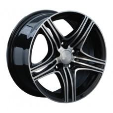 LS-Wheels 127 7,0х16 PCD:4x108  ET:32 DIA:65.1 цвет:BKF (черный)