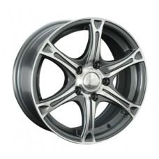 LS-Wheels 131 6,5х15 PCD:5x112  ET:45 DIA:57.1 цвет:GMF (темно-серый,полировка)
