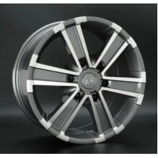 LS-Wheels 132 7,5х17 PCD:6x139,7  ET:25 DIA:106.1 цвет:GMF (темно-серый,полировка)