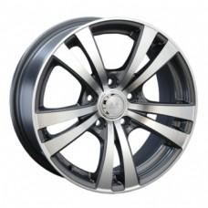 LS-Wheels 141 7,0х16 PCD:5x114,3  ET:45 DIA:73.1 цвет:GMF (темно-серый,полировка)