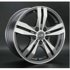 LS-Wheels 142 6,5х16 PCD:5x114,3  ET:40 DIA:73.1 цвет:GMF (темно-серый,полировка)