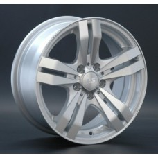 LS-Wheels 142 6,0х14 PCD:4x100  ET:40 DIA:73.1 цвет:SF (серебро,полировка)