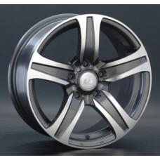 LS-Wheels 145 6,0х14 PCD:4x98  ET:35 DIA:58.6 цвет:GMF (темно-серый,полировка)