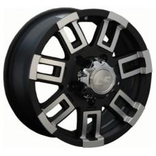LS-Wheels 158 7,0х16 PCD:6x139,7  ET:10 DIA:93.1 цвет:MBF (черный,полировка)