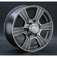 LS-Wheels 160 7,0х16 PCD:6x139,7  ET:10 DIA:107.1 цвет:GMF (темно-серый,полировка)