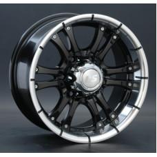 LS-Wheels 161 8,0х16 PCD:6x139,7  ET:10 DIA:93.1 цвет:BKL