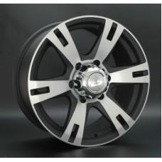 LS-Wheels 182 8,0х17 PCD:6x139,7  ET:25 DIA:106.1 цвет:MBF (черный,полировка)