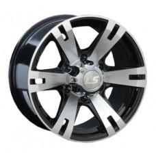 LS-Wheels 182 8,0х17 PCD:6x139,7  ET:38 DIA:100.1 цвет:BKF (черный)
