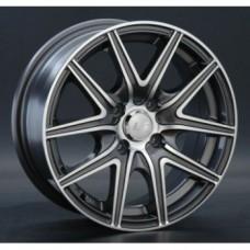 LS-Wheels 188 6,0х14 PCD:5x100  ET:35 DIA:57.1 цвет:GMF (темно-серый,полировка)
