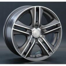 LS-Wheels 191 6,5х15 PCD:5x112  ET:45 DIA:57.1 цвет:GMF (темно-серый,полировка)