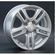 LS-Wheels 191 6,5х15 PCD:5x112  ET:45 DIA:57.1 цвет:SF (серебро,полировка)
