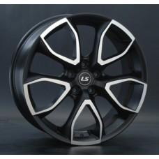 LS-Wheels 192 8,0х20 PCD:5x112  ET:45 DIA:66.6 цвет:MBF (черный,полировка)