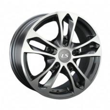 LS-Wheels 197 6,0х15 PCD:5x139,7  ET:40 DIA:98.5 цвет:GMF (темно-серый,полировка)