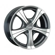 LS-Wheels 202 6,0х14 PCD:4x98  ET:35 DIA:58.6 цвет:GMF (темно-серый,полировка)