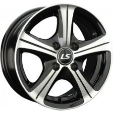 LS-Wheels 202 6,5х15 PCD:4x100  ET:43 DIA:73.1 цвет:BKF (черный)