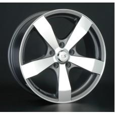 LS-Wheels 205 6,0х14 PCD:5x100  ET:35 DIA:57.1 цвет:GMF (темно-серый,полировка)