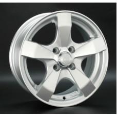 LS-Wheels 205 6,0х14 PCD:4x98  ET:35 DIA:58.6 цвет:SF (серебро,полировка)