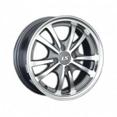 LS-Wheels 206 6,5х15 PCD:4x100  ET:43 DIA:54.1 цвет:GMF (темно-серый,полировка)
