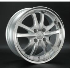 LS-Wheels 206 6,5х15 PCD:4x100  ET:42 DIA:54.1 цвет:SF (серебро,полировка)